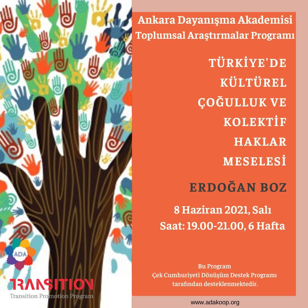 Türkiye'de Kültürel Çoğulluk ve Kolektif Haklar Meselesi