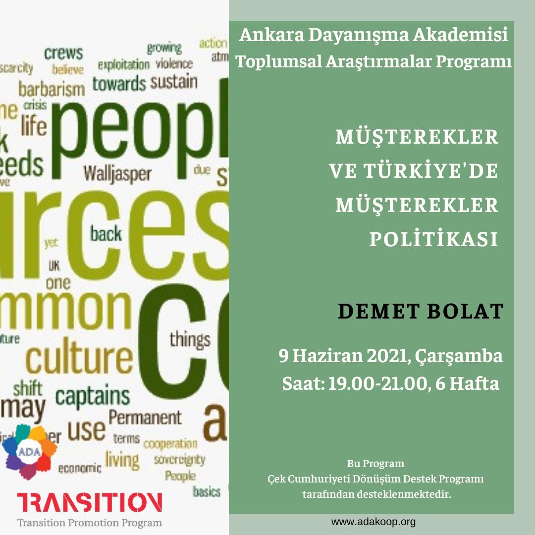 Müşterekler ve Türkiye'de Müşterekler Politikası